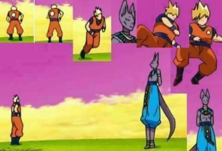 Screenshot dragon ball super bad animation episode 5